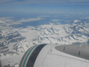 approach into Anchorage