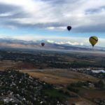 Ballooning in the Rockies